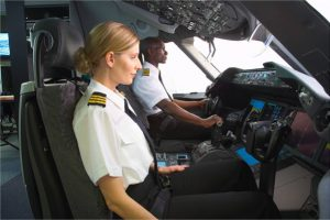 Airline Pilots in Action