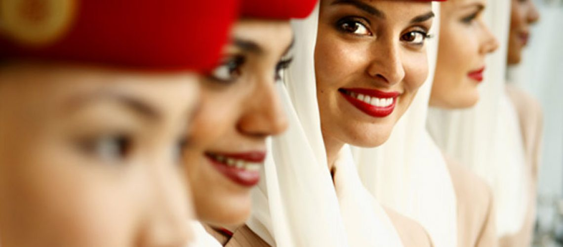 Emirates cabin crew training